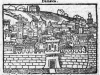 Damascus as depicted by Noe Bianchi 1587