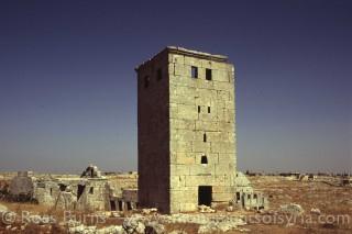 برج جنوب مجمع الدير الجنوبي الغربي