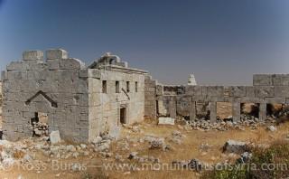 الدير الجنوبي الغربي من القرن السادس