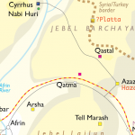 Cyrrhus location