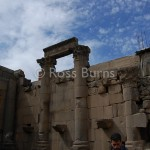 Roman temple at Sanamein, ancient Aere