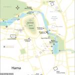 map of Hama