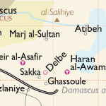 Haran al-Awamid, location