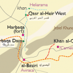 location of Harbaqa Dam