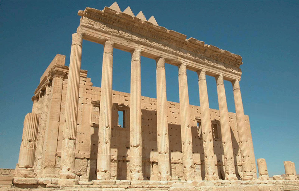 Bel Temple in Palmyra
