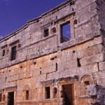 Serjilla, house facade