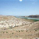 Jebel Khalid, looking upstream along the Euphrates River