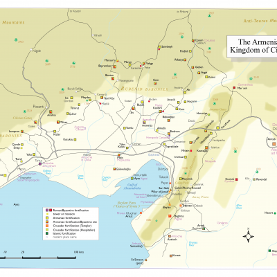 Kingdoms and castles of the Middle Ages in Cilicia