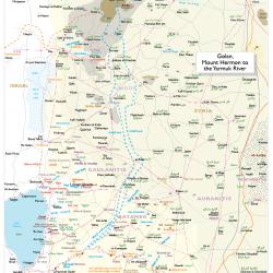 Atlas sheet 03 Golan