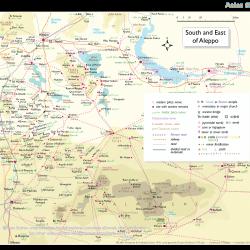Atlas 05 Syrian steppe south and east of Aleppo as far as Palmyra