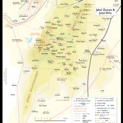 Syria Atlas sheet 08c Jebel Zawiya