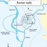 plan of Circesium (modern Buseira)