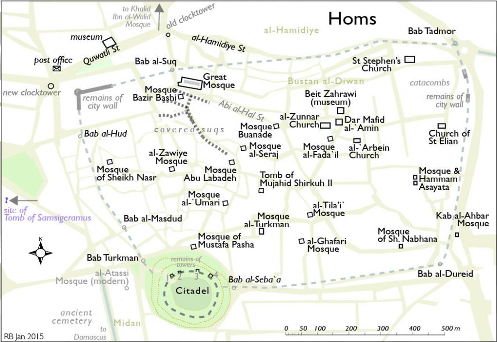 Homs map (2015)