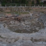 Roman theatre at Jeble, ancient Gabala